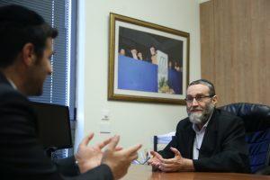 גפני בראיון לכיכר השבת